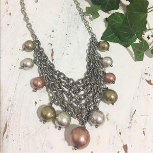 New / mash necklace